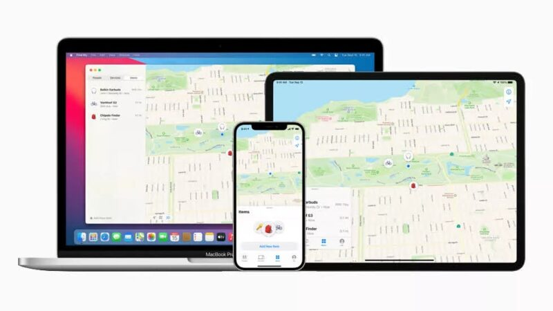 Apple expands Find My tracking network to third-party accessories
